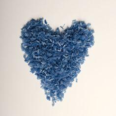 Blue Water Soluble Biodegradable Natural Wedding Confetti www.adamapple.co.uk