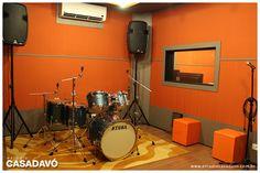 Estúdio Casa da Vó - Sala A #estudiocasadavo www.estudiocasadavo.com.br