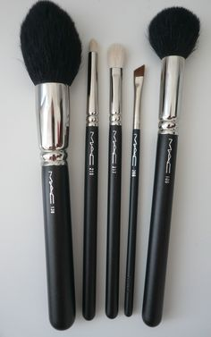 Mac makeup brushes!