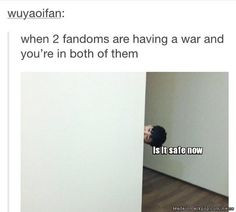 Me always. Is it really that hard for exo-l and army's to get along *crying