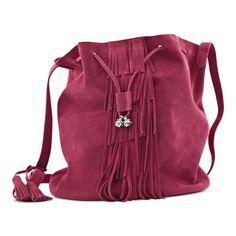 Shoulder strap bag Shoulder Strap Bag, Fringes, Drawstring Backpack, Bucket Bag, Taupe, Spring Summer, Backpacks, Womens Fashion, Bags
