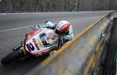 Michael Rutter Macau 2011 on his BSB Ducati 1098.