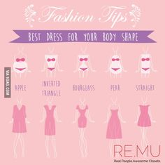 Best dress for your body shape