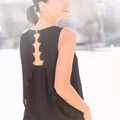 """stitchfix: """"Spring's hottest top trend doubles as the ultimate desk-to-date attire. See more styles on the blog! #partyintheback"""""""