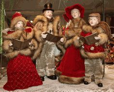 1000 Images About Christmas Carolers On Pinterest