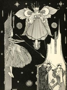 Harry Clarke for Charles Perrault's The Sleeping Beauty in the Wood, 1922.