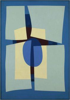 Farfalla (1961) Oleo sobre tela - Emilio Pettoruti (Argentino 1892-1971) Museo Nacional de Bellas Artes de Buenos Aires