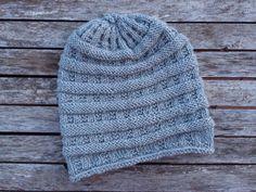 Cappello lana ai ferri