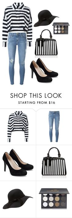 """""""Casablanca"""" by elvisa-mirsad ❤ liked on Polyvore featuring Norma Kamali, Frame Denim and Shany"""