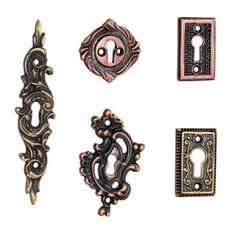 http://www.adonaihardware.com/Door-Accessories/Key-Hole-Covers-Escutcheons- We design pretty keyhole covers and brass keyhole covers that facilitate to cover rough hole. Décor your home with antique keyhole covers.