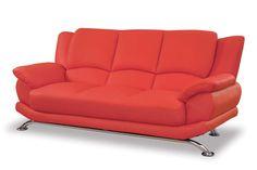die besten 25 rote sofas ideen auf pinterest rotes sofa rote couchzimmer und rote couchkissen. Black Bedroom Furniture Sets. Home Design Ideas