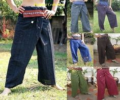 Thai fisherman yoga samurai kung fu tai chi boho #hippie #maternity #trousers pan, View more on the LINK: http://www.zeppy.io/product/gb/2/200998687919/