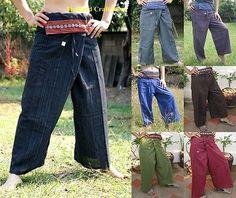 Thai fisherman yoga samurai kung fu tai chi boho #hippie #maternity #trousers pan, View more on the LINK: http://www.zeppy.io/product/gb/2/200998687919/