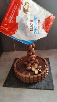 Gravity Cake kinder schokobons - cln