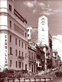 S/C de Tenerife . Panorámica de la plaza de La Candelaria ( años 50 ) .