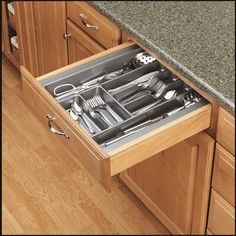 $27.99 · Rev-A-Shelf Adjustable Drawer Organizer #kitchendrawers #diykitchen