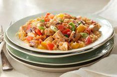 Grilled Chicken & Summer Vegetable Skillet