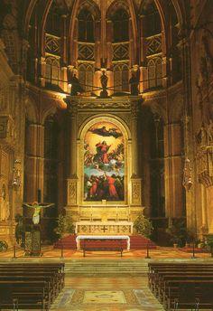 Titian. Assumption of the Virgin 1516 - 1518.Santa Maria Gloriosa dei Frari, Venice.