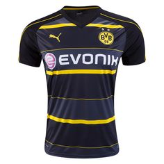 Borussia Dortmund 16/17 Away Soccer Jersey - ☆ Get Match Ready for the 2016/17 UEFA Champions League! ☆