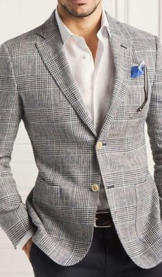 Man Style ☆This grey suit is on my list. It's one of the classics, never has gone out of style.
