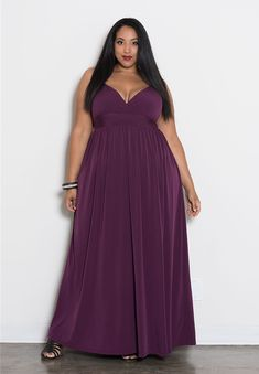 New Plus Size Sleeveless Long Dress with Jeweled Waistline in Aqua ...