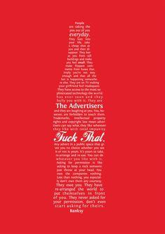 Banksy, ladvertising e la Coca Cola - Tiragraffi