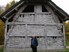 16th century cruck framed barn from Leominster