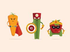 Super Juice Illustrations by Zia Somjee