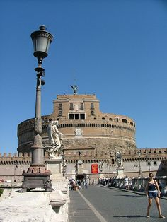 Castel and Ponte Sant Angelo Rome