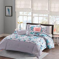 Intelligent Design Tiffany Comforter Set, Blue