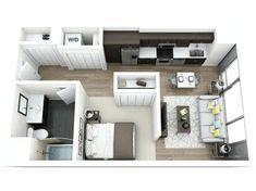 Résultat d'images pour studio apartment floor plan design
