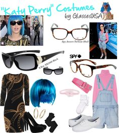 """""""Katy Perry costume"""" by iloveglasses on Polyvore"""
