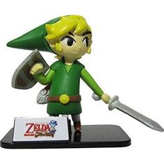 Legend of Zelda Series Figure Collection - Link (Phantom Hourglass) Takara Tomy >>> Learn more by visiting the image link. (This is an affiliate link) #ActionToyFigures