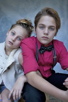 Dylan and sister Ellery.
