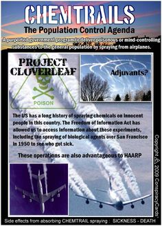 Chemtrails...can this be true? Time to research