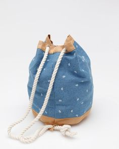 Bucket In Paisley  by Dusen Dusen  $84