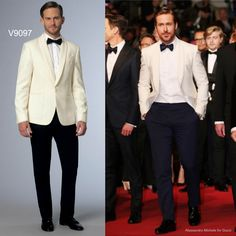 Sew the Ryan Gosling at Cannes look: Vogue Patterns V9097 men's tuxedo