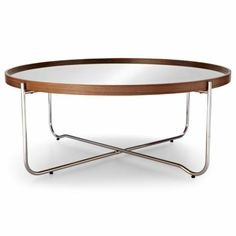 Hmmmm. Happy Chic by Jonathan Adler Bleecker Mirrored Coffee Table