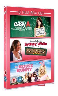 3 Film Box Set: Easy A / Sydney White / The House Bunny [DVD]
