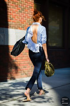 Shop 7 Flirty Blouses With Barely-There Backs