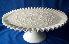 "Fenton Glass ""Spanish Lace"""