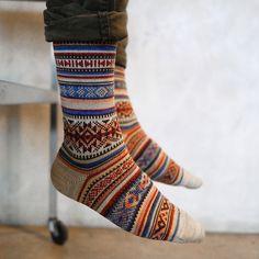 pattern socks