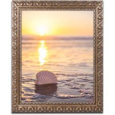 Trademark Fine Art Pop The Bubbly Canvas Art by Chris Moyer, Gold Ornate Frame, Size: 16 x 20