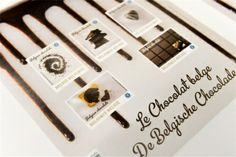 Belgian stamps that taste and smell like chocolate! (march 2013)