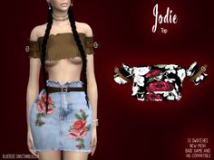 Jodie Outfit for The Sims 4