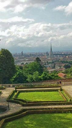 scatto dalla Villa della Regina, foto di Marcella Siciliano