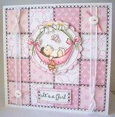 Beth's Little Card Blog: Penny Black Saturday #107!