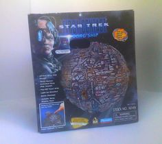 Borg Sphere First Contact Vintage Star Trek Playmates Starship Complete with Box Star Trek Toys, Star Trek Action Figures, First Contact, Childhood, Stars, Box, Vintage, Infancy, Snare Drum
