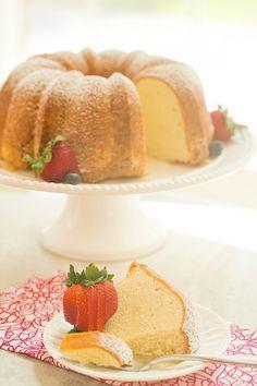 Cream Cheese Pound Cake   browneyedbaker.com #recipe