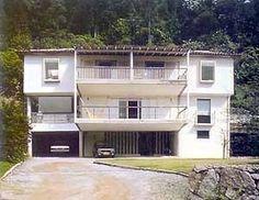 Residência Costa e Moreira Penna, Rio de Janeiro. Lúcio Costa, 1980 [Casa de Lúcio Costa]